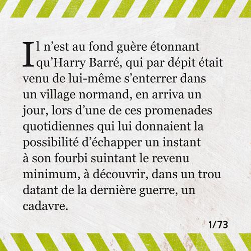 Série littéraire, Il y a une lumière qui ne s'éteint jamais, 01/73